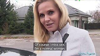 Hot MILF Fucking In Public