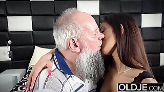 Sexy and naughty step daddys cumshot