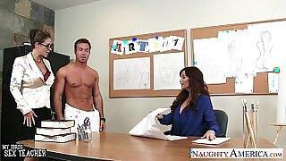 Jenna and Leona Share Naughty Threesomes Together