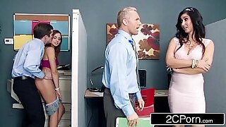 Hairy stepdaughter aha peed in rush,insha small shorts STWETS!Eng