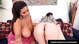 Mujer Muy Milky juicy booty n Angelina Castro can only take a dick
